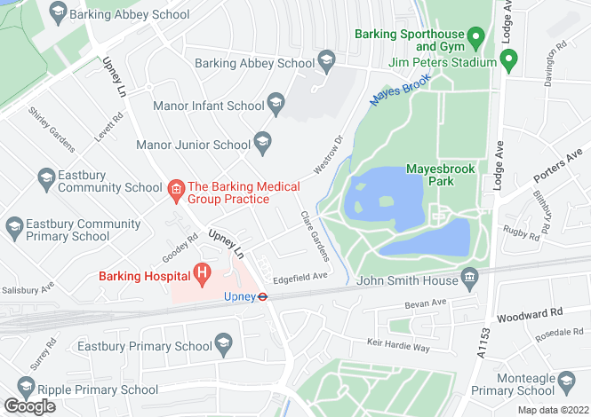 Map for Barking
