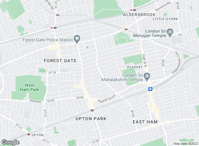 Map for Marvel & Co, Forest Gate