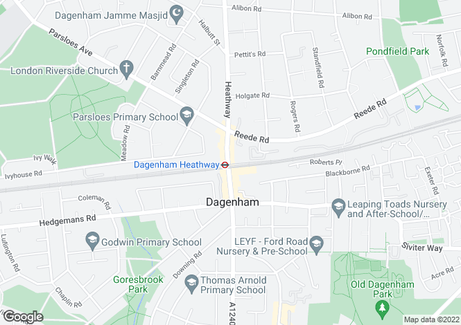 Map for Heathway