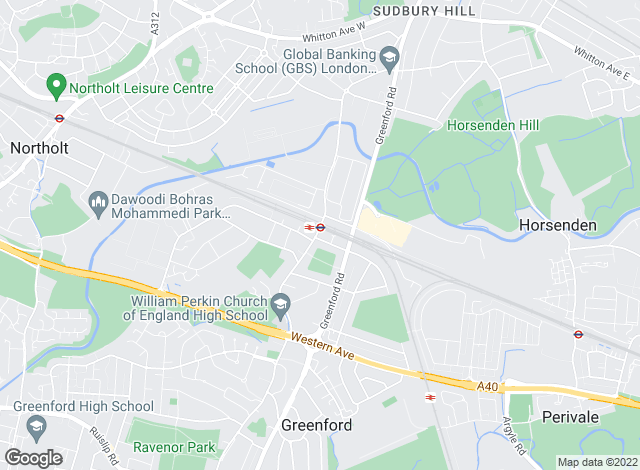 Map for Brian Cox, North Greenford/Perivale Sales