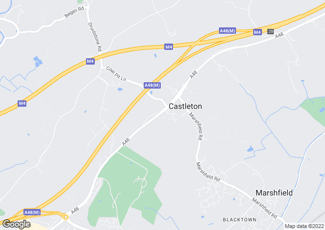 Map for Castleton