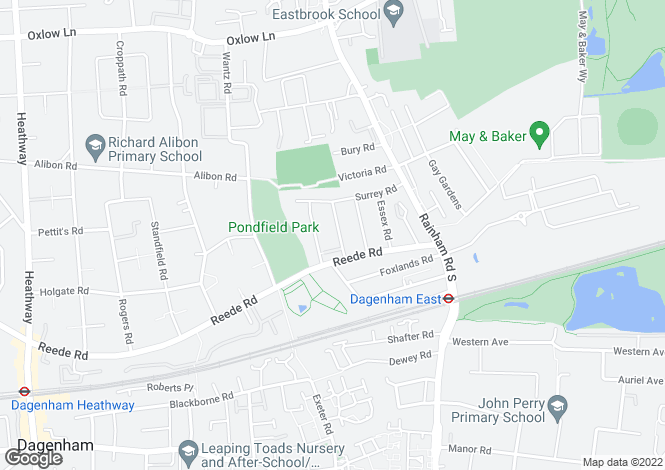 Map for Norfolk Road,