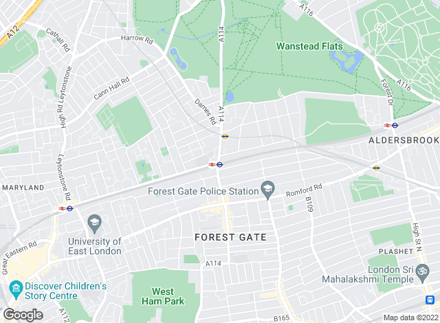 Map for Spencers Property Services, Forest Gate