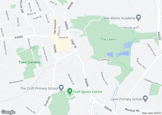 Map for Henrietta Court, Marlborough Road, Swindon, SN3 1QJ