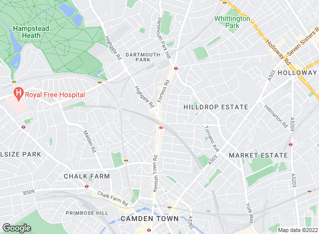 Map for Winkworth - Kentish Town, Kentish Town