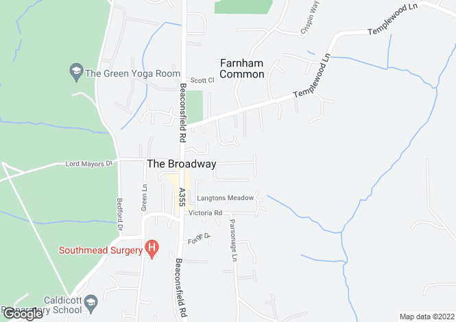 Map for ROSEWOOD WAY, FARNHAM COMMON