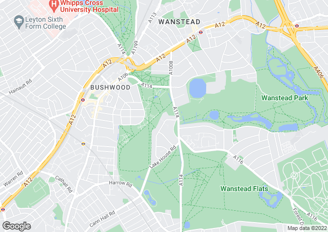 Map for Belgrave Heights, Belgrave Road, Wanstead