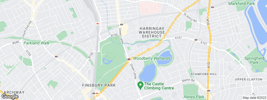 Map for Woodberry Park development by Berkeley Homes (Capital) Ltd
