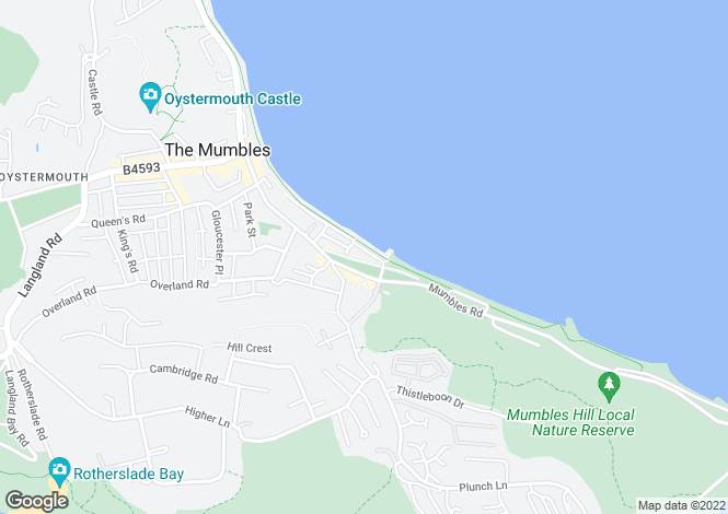 Map for Promenade Terrace,