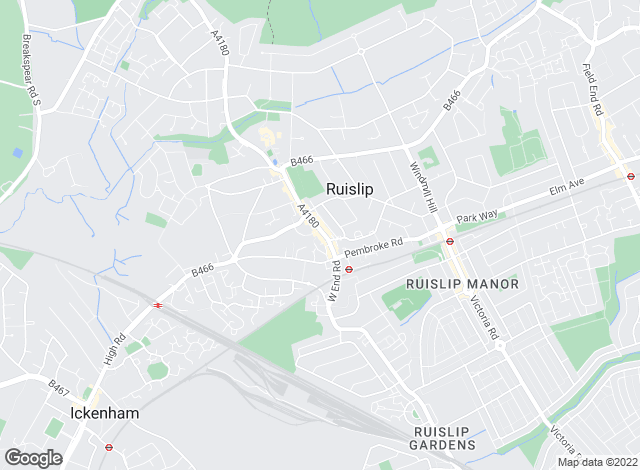 Map for Coopers, Ruislip - Lettings