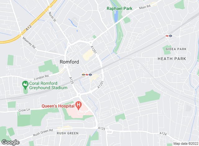Map for GBP Estates , Romford
