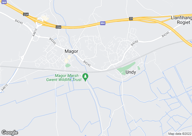 Map for Tanhurst  Magor