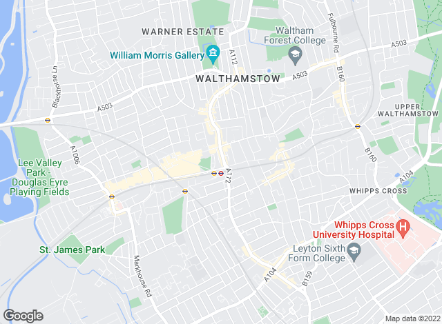 Map for Kings Group, Walthamstow