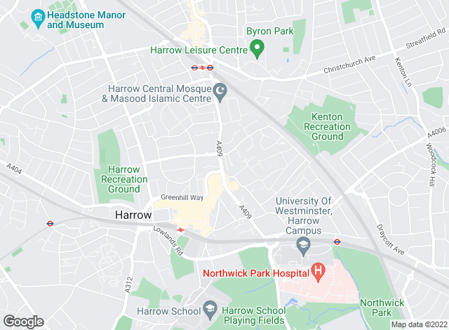 Map for Winkworth - Harrow, Harrow