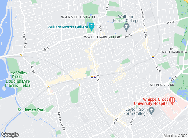 Map for YOUR MOVE Sales - Sterling & Co, Walthamstow