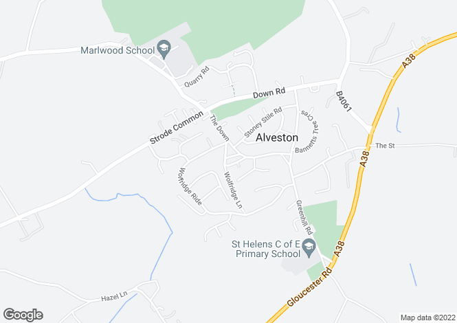 Map for The Square,