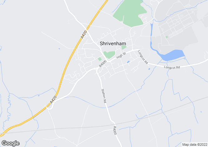 Map for Charlbury Rd  Shrivenham