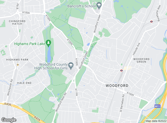 Map for Abode, Woodford Green