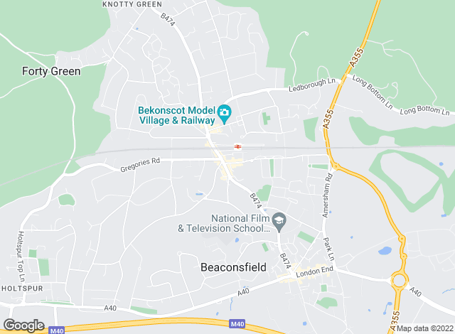 Map for Brampton Partnership, Beaconsfield - Lettings