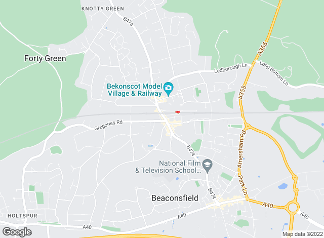 Map for Hamptons International Lettings, Beaconsfield - Lettings
