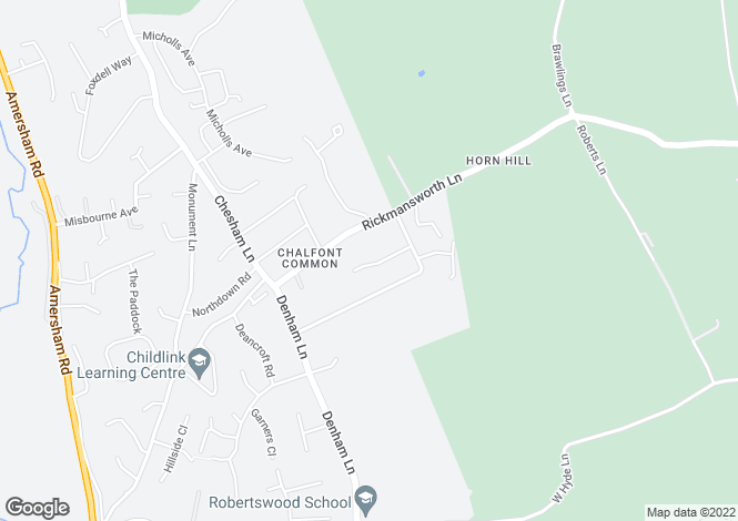 Map for Copper Ridge, Chalfont St Peter, GERRARDS CROSS, Buckinghamshire