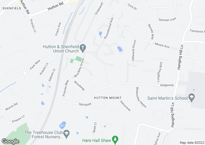 Map for Hutton (Hutton Mount)