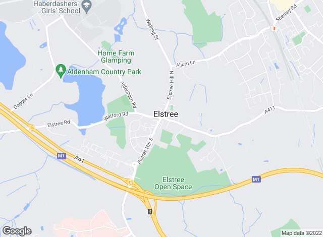 Map for Barry Allsuch & Co, Elstree