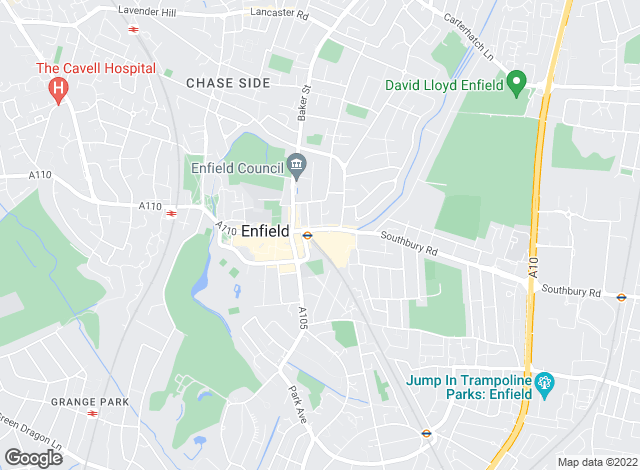 Map for Bairstow Eves, Enfield