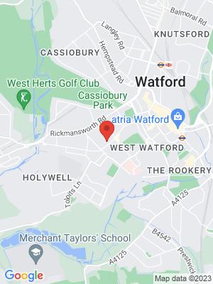Location Map of Christina Birchall-Sampson