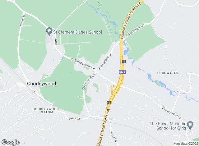 Map for Binks (Sales & Lettings) Ltd, Chorleywood