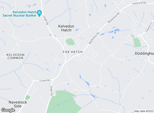 Map for Keith Ashton , Village Office Kelvedon Hatch