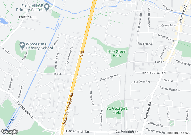 Map for Enfield