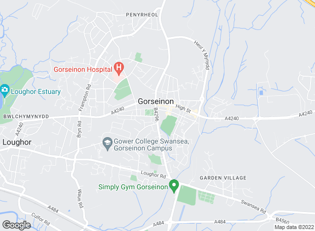 Map for Peter Alan, Gorseinon