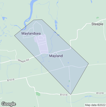 Map of property in Mayland