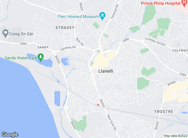 Map for Davies Craddock, Llanelli