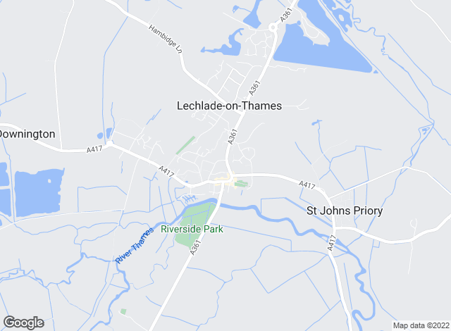 Map for Moore Allen & Innocent, Lechlade