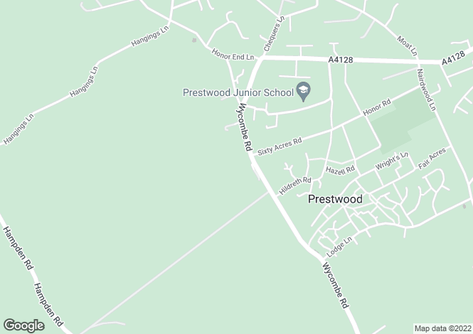 Map for Prestwood HP16 0PQ