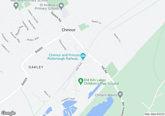Map for Brampton at Old Kiln Lakes, Station Road,