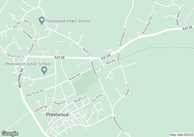 Map for Coulson Court, Prestwood