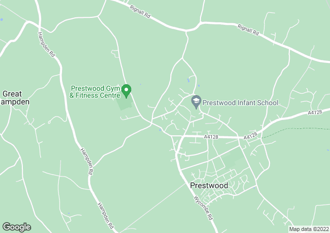 Map for Kiln Road, Prestwood