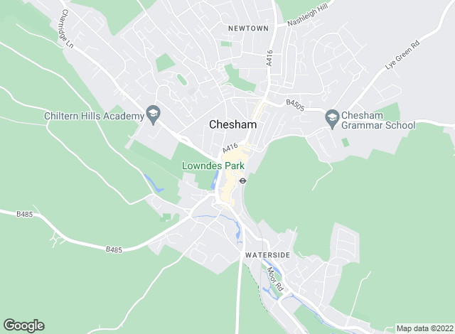 Map for Chancellors, Chesham Lettings