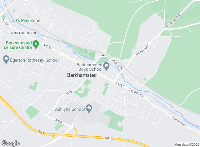 Map for Aitchisons, Berkhamsted