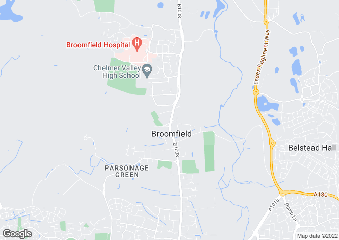 Map for Broomfield
