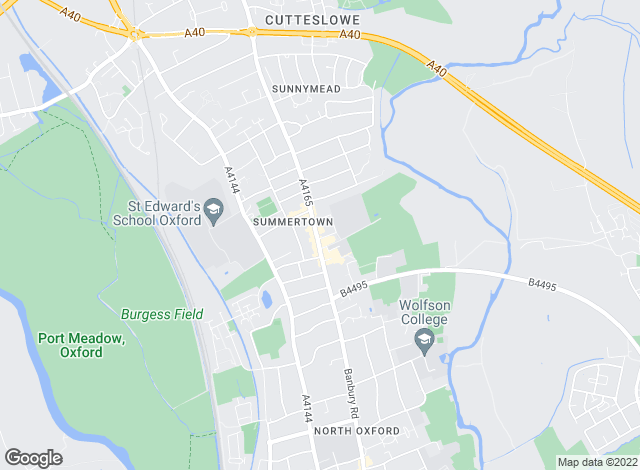Map for Savills, Summertown