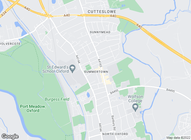 Map for Oxford Property Solutions Limited, OxfordShortlets