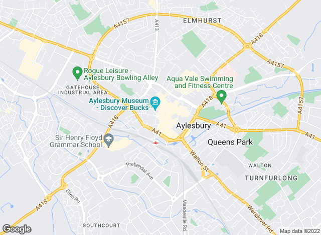 Map for Bannisters, Aylesbury