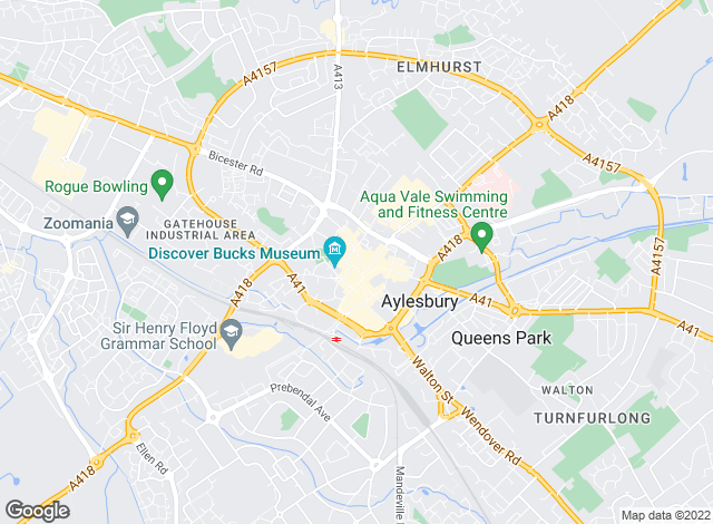 Map for Christopher Pallet, Aylesbury