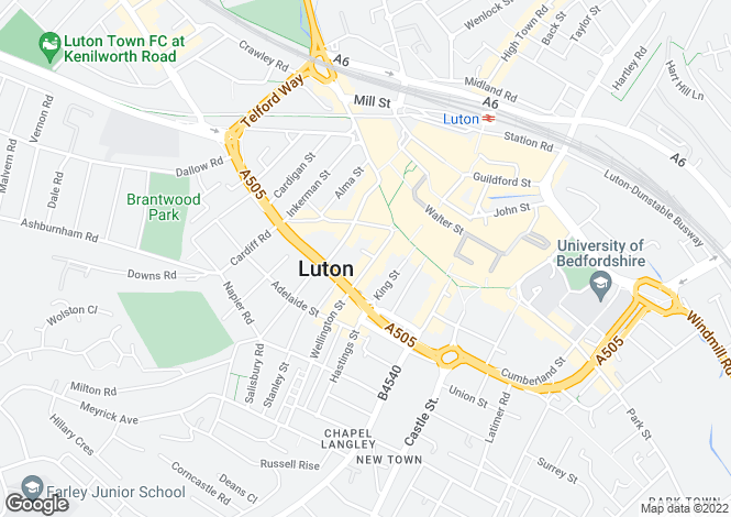 Map for Wellington Street,
