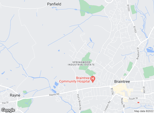 Map for Acorn Property Management, Braintree