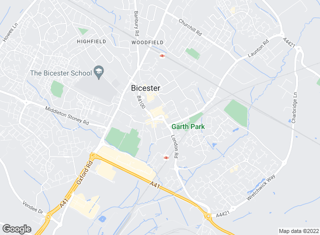 Map for Alexander Letting Agents, Bicester - Lettings